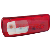 Genuine Vignal 055020 LC8 Rear Left Hand Nearside Combination Tail Lamp/Light Lens For DAF CF/XF 2012->