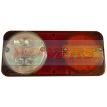 Sim 3165 12v/24v Rear Nearside Universal LED Combination + Fog & Reverse Lamp/Light
