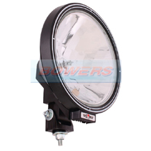 "Sim 3227 12v/24v 9"" Round Spot/Driving Lamp/Light With Side/Position Light"