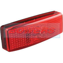 LED Autolamps 1490RM 12v/24v Red Rear Marker Lamp/Light