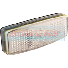 LED Autolamps 1490WM 12v/24v White Front Marker Lamp/Light