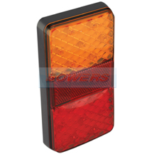 LED Autolamps 150BARE 12v Slim Rear LED Combination Stop/Tail/Indicator Trailer Lamp/Light