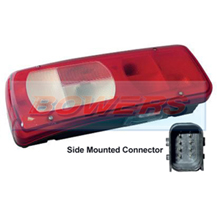 Genuine Vignal 155100 LC8 Rear Left Hand Nearside Combination Tail Lamp/Light For DAF CF/XF 2012->