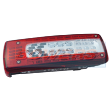 Genuine Vignal LC10 LED Rear Left Hand Nearside Combination Tail Lamp/Light + Numberplate Light For Volvo FM