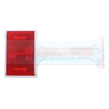 Rubbolite 174/01/00 Red Rear Stalk Reflector