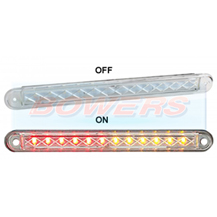 LED Autolamps 235WSTI12 12v Universal White Slim Line LED Rear Combination Tail Light Lamp