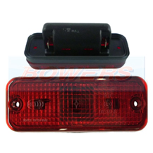 Hella 2SA961167011 Rear Red Caravan Marker Lamp