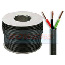3 Core 16.5A Thin Wall Cable 3x32/0.20mm 1.0mm² 30m Roll