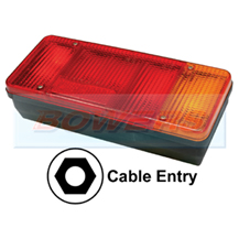 Sim 3121 Rear Right Hand Offside Combination Tail Lamp Light Unit