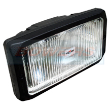"Sim 3225 12v/24v 9.5"" Rectangular Fog Lamp/Light With Side/Position Light"