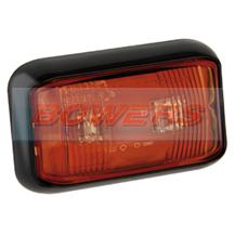 LED Autolamps 58RME 12v/24v Red Rear Marker Lamp/Light
