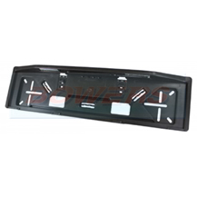 Rubbolite M647 Rectangular Oblong Number Plate Holder With LED Lights