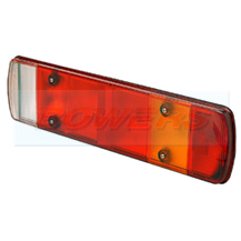 Rubbolite 80873A Rear Combination Tail Lamp Light Lens DAF Iveco MAN Renault Scania Volvo Commercial Vehicles