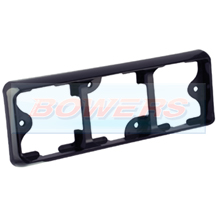 LED Autolamps 80B3B Rectangular Black Triple Mounting Bracket For 80 Series Lamps/Lights
