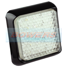 LED Autolamps 80WME 12v/24v Square Rear LED Reverse Trailer Lamp/Light