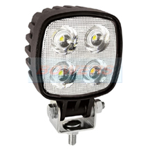 LED Autolamps 8112BM 12v/24v Square 4 LED Work Lamp/Light