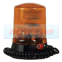 12v Magnetic Mount CAP168 Airport Static/Flashing Amber Beacon