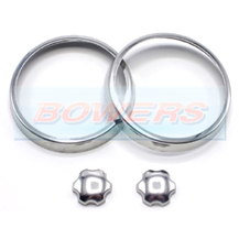 Classic Mini Polished Stainless Steel Air Vent Rings