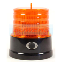 Britax B364.00.BAT Magnetic Mount Battery Powered Mini Portable LED Amber Beacon