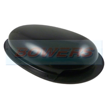 Low Profile Black Roof Air Vent/Duct
