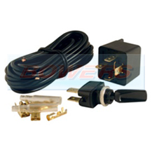 Universal 12v Spot/Fog/Driving Lamp/Light Wiring Kit With Switch
