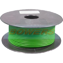 Green Single Core Cable 14/0.30mm 1.0mm² 50m Roll