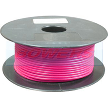 Thin Wall Pink Single Core Cable 16/0.20mm 0.5mm² 100m Roll