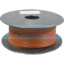 Brown Single Core Cable 14/0.30mm 1.0mm² 50m Roll