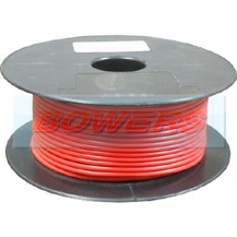 Thin Wall Red Single Core Cable 32/0.20mm 1.0mm² 30m Roll