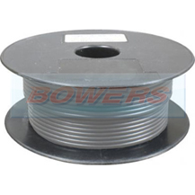 Thin Wall Grey/Slate Single Core Cable 32/0.20mm 1.0mm² 30m Roll