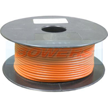 Orange Single Core Cable 14/0.30mm 1.0mm² 50m Roll