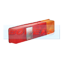 Rear Combination Tail Lamp/Light Lens For Ford Transit Tipper & Luton Box Vans