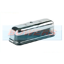 Chrome Effect Number Plate Lamp/Light For Classic Cars (Mini/Land Rover Defender)