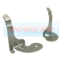 BMW Mini Stainless Steel Spotlight/Spotlamp Brackets (Pair)
