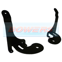 BMW Mini Black Spotlight/Spotlamp Brackets (Pair)
