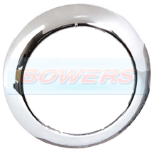 Chrome Bezel For LED Button Marker Lamps