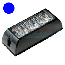 12v/24v 3 Module LED Blue Flashing Strobe Hazard Warning Light/Lamp