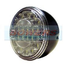 12v/24v Universal LED Rear 140mm Hamburger Reverse Lamp/Light