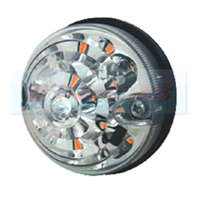 Land Rover Defender 73mm LED Clear Indicator Light Upgrade