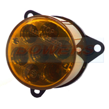 55mm Round Inner LED Rear Indicator Light For 98mm Combinable Lights Lamps