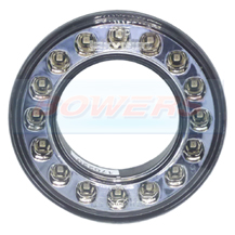 98mm Round LED Rear Fog Light Outer Ring For 55mm Combinable Lights Lamps