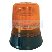 12v/24v 3 Bolt Mounting Xenon Flashing Amber Beacon