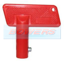 Red Spare Key For Battery Isolator Switch
