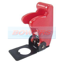 Red Aircraft/Missile Style Toggle Switch Cover