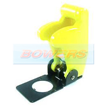 Yellow Aircraft/Missile Style Toggle Switch Cover