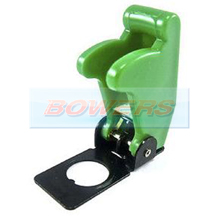 Green Aircraft/Missile Style Toggle Switch Cover