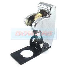 Chrome Effect Aircraft/Missile Style Toggle Switch Cover