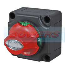 12v/24v Marine Battery Isolator/Cut Off Kill Switch (4 Position Changeover)