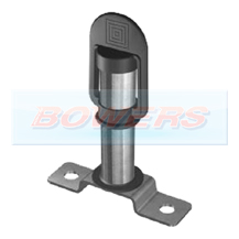 DIN Beacon Bolt On Mounting Stem/Pole/Bracket