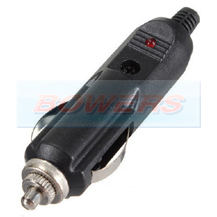 12v Male Wired Cigarette Lighter Plug/Connector With LED